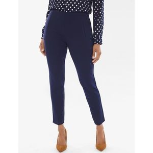Chico's Navy Blue So Slimming Juliet Ankle Pants 4